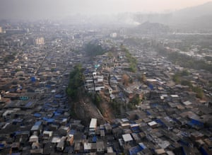 Morning over Maximum City, India