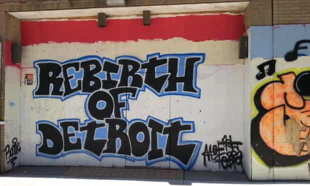 Rebirth of Detroit graffiti