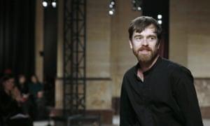 Hermes fashion designer, Christophe Lemaire.