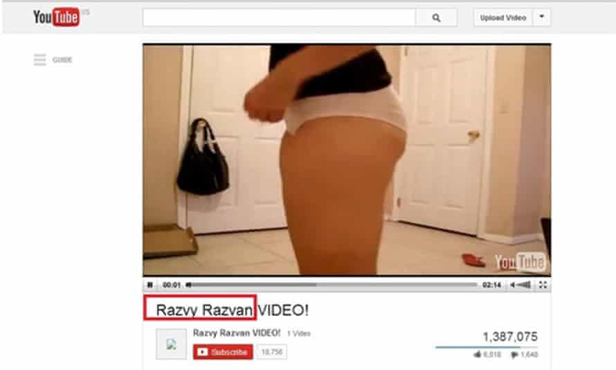 If you see this woman's underwear in your Facebook feed, don't click the link.