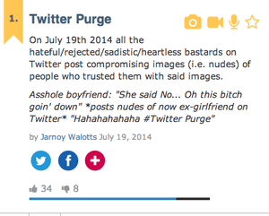 twitter purge