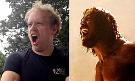 "Brothers in Arrrrrrrrgh-rms … Stuart Heritage and Dwayne ""The Rock"" Johnson"