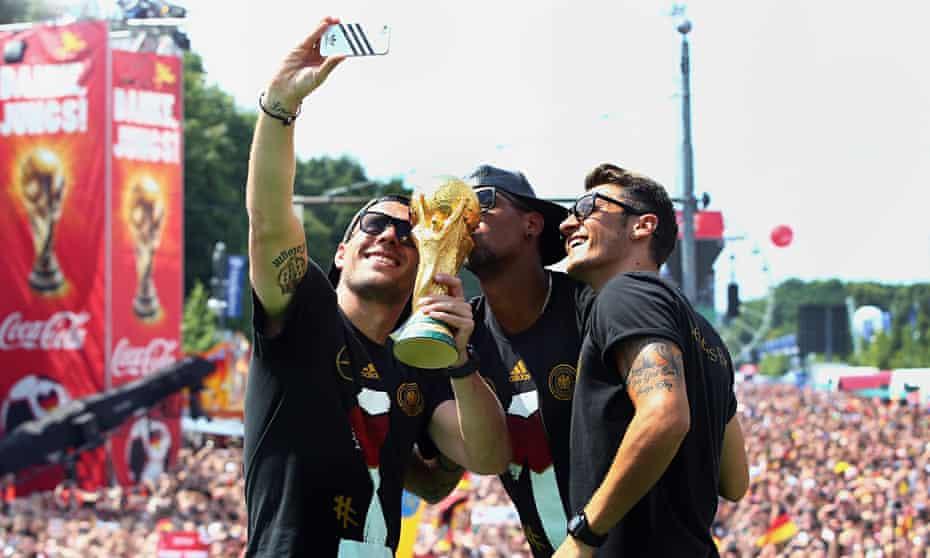 Germany's celebrations.