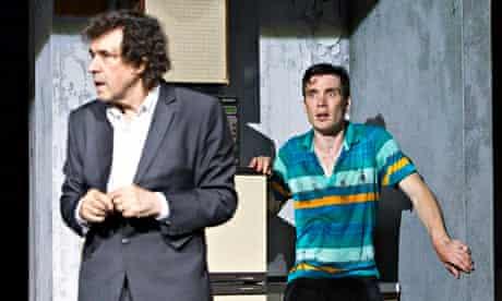 Stephen Rea, left, and Cillian Murphy in Enda Walsh's Ballyturk