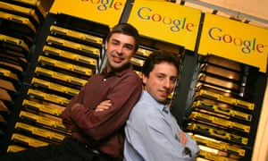 Google's Larry Page and Sergey Brin