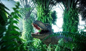 Dinosaurs Unleashed at the Eden Project, Cornwall.