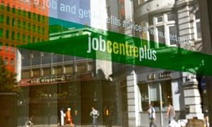 jobcentre unemployment