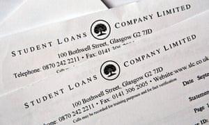 Student loan letter