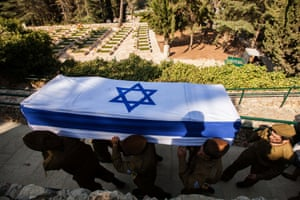 IDF funeral