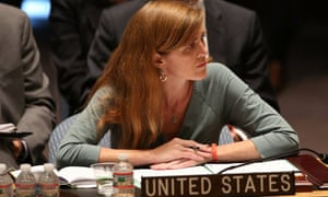 US ambassador to the UN Samantha Power.