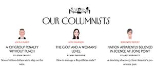 new yorker column