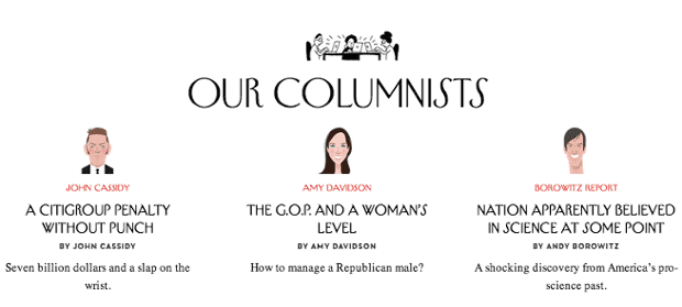 The New Yorker website redesign: a first look | Media | The
