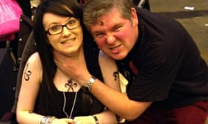 Megan and Darren Shan