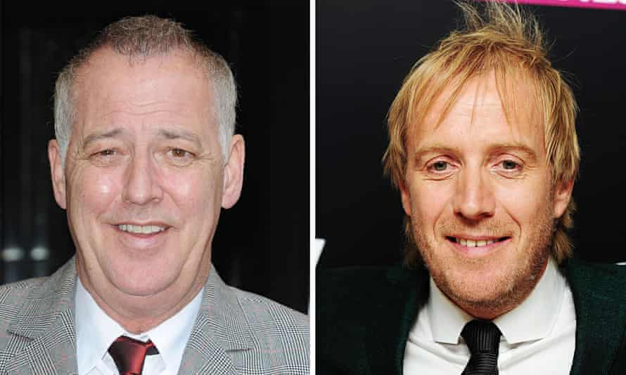 Michael Barrymore and Rhys Ifans