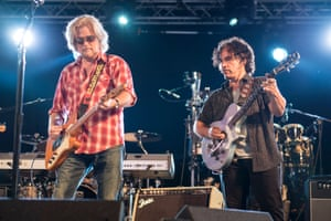 Daryl Hall and John Oates at the BBC 6 Music Stage