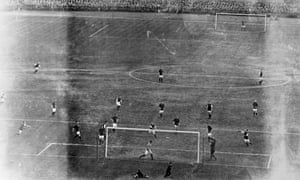 FA Cup final 1914 at Crystal Palace between Liverpool and Burnley