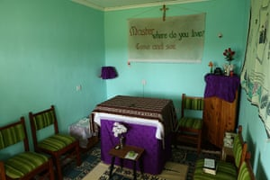 Brother Colm: Brother Colm's prayer room