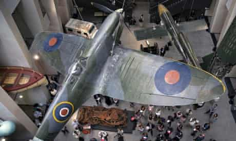 Main atrium of the Imperial War Museum