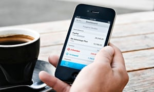 Smartphone apps put your finances at your fingertips.