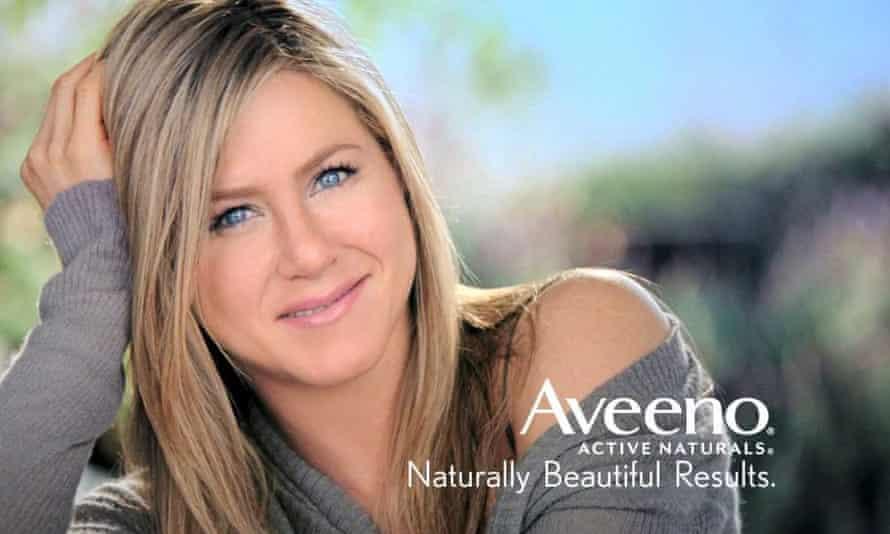 Jennifer Aniston Aveeno