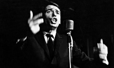Jacques Brel On Stage At