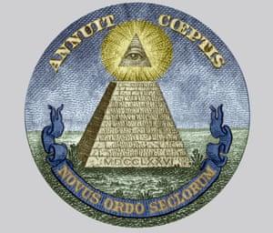 Symbol of the The Bavarian Illuminati secret society.