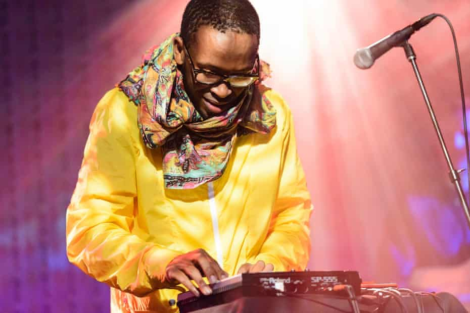Spoek Mathambo performs at Le Poisson Rouge in New York in 2012.