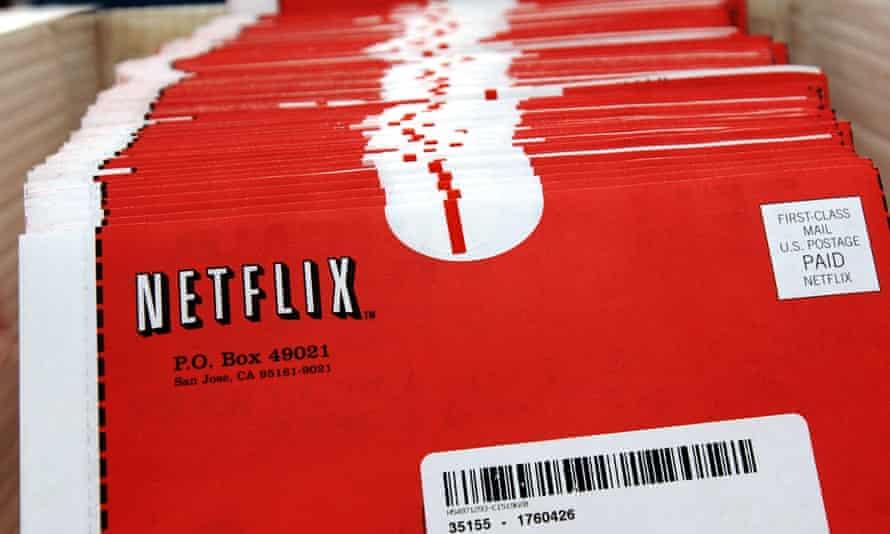 Netflix DVD packets.