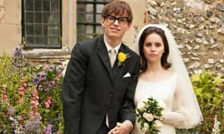 Eddie Redmayne and Felicity Jones in Stephen Hawking biopic Theory of Everything