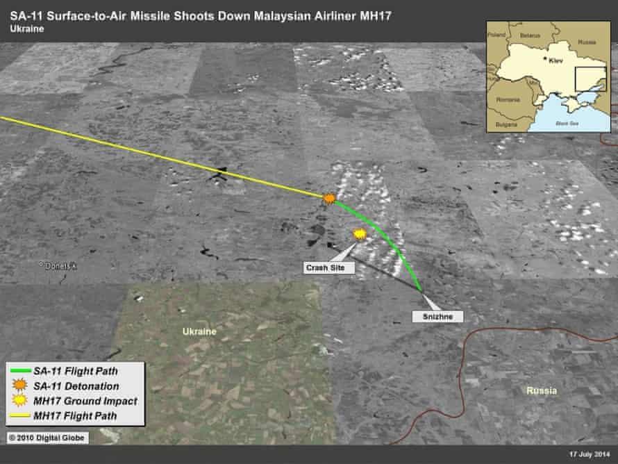 MH17 shootdown US report