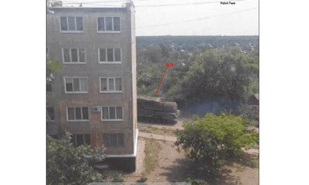 BUK missile in Ukraine