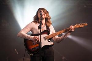 Anna Calvi live at Latitude