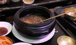 dog meat soup