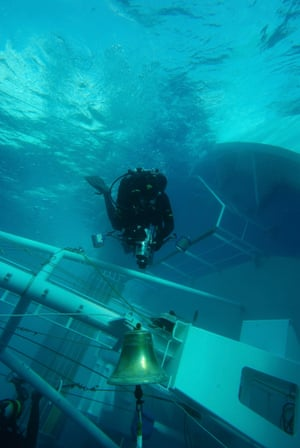 January 2012: Divers search to find missing people – a total of 32 died in the incident