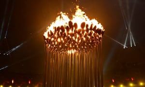 The Olympic cauldron was the centrepiece of the opening ceremony of the London 2012 Games.
