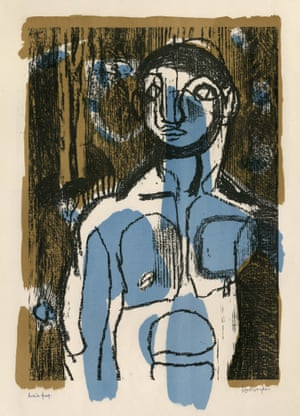 Blue Boy, The Woodman, 1949, by Keith Vaughan