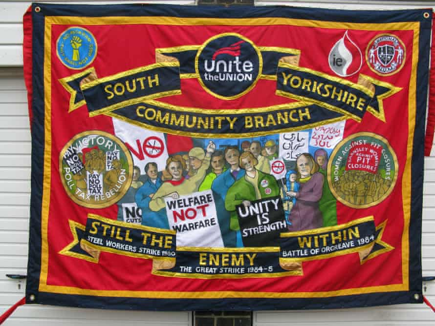 Ed Hall's Unite banner