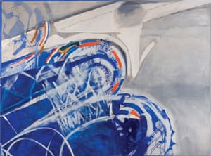 Swimmer, 1987, by Sandra Blow