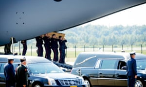 MH17 coffins in Netherlands