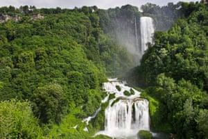 Marmore waterfalls, Umbria