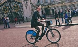 Boris bike: Elizabeth Kriegsmann