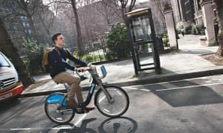 Boris bike: Toon Bakkeren