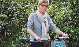 Boris bike: Barbara Nowakowska