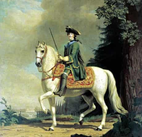 Vigilius Erifsen's Equestrian Portrait of Catherine II (after 1762).