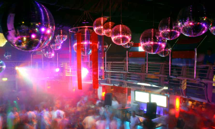 The Ministry of Sound nightclub in London.