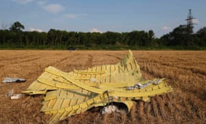 Debris is pictured at the site where Malaysia Airlines flight MH17 crashed, near Petropavlivka, Ukraine.