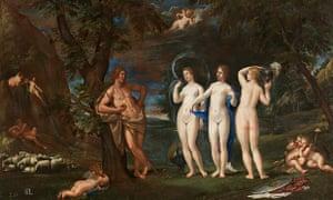 Francesco Albani's The judgement of Paris (Il giudizio di Paride)