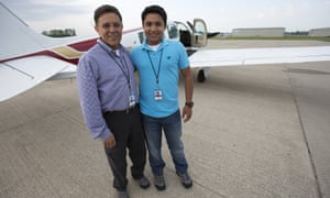 Haris Suleman, 17, and his father Babar died when their plane went down in the Pacific Ocean during a  record attempt