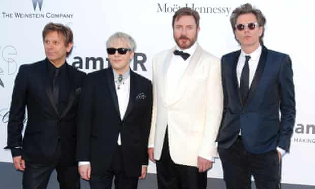 Pop band Duran Duran in May 2013