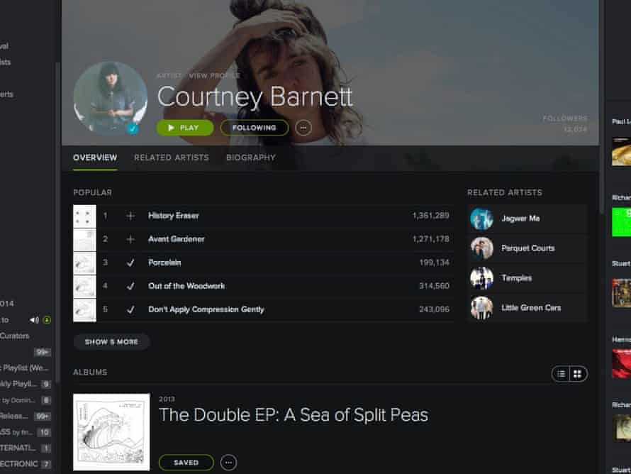 Spotify has signed up more than 10m paying subscribers.